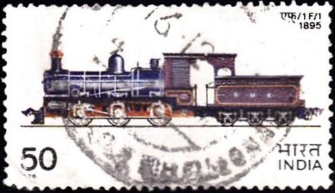 F-1 (M.G. Steam Locomotive) : Ajmer Railway Workshop (1895)