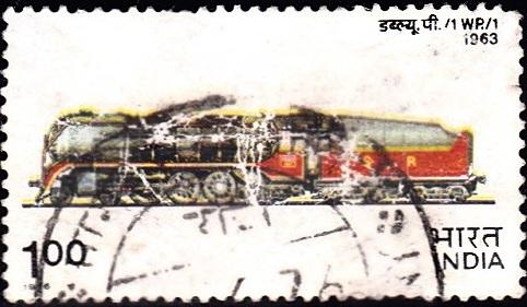 WP.-1 (B.G. Steam Locomotive): Chittaranjan Locomotive Works (1963)