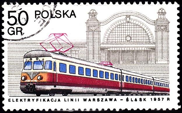 1. Electric Locomotive & Katowice Station [Locomotives in Poland]
