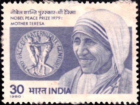 Saint Teresa (Mary Teresa Bojaxhiu) : Nobel Peace Prize Winner 1979