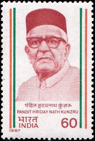 H. N. Kunzru (हृदय नाथ कुंजरू) : Kashmiri Pandit