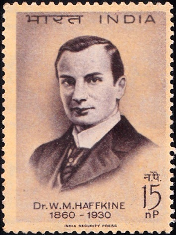 Sir Waldemar Mordechai Wolff Haffkine : Russian bacteriologist