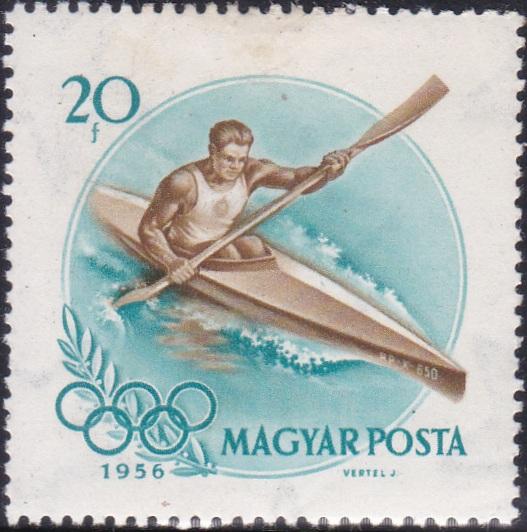 1 Kayak Racer [Olympic Games 1956, Melbourne]