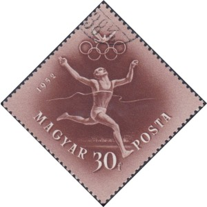 1 Runner [Hungary's participation in the Olympic Games, Helsinki, 1952]
