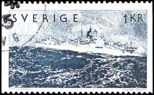 """1097 Liner """"Snow Storm"""" [Swedish Shipping Industry]"""
