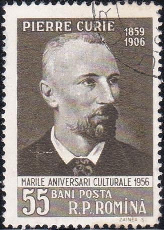 1126 Pierre Curie [Romania Stamp]