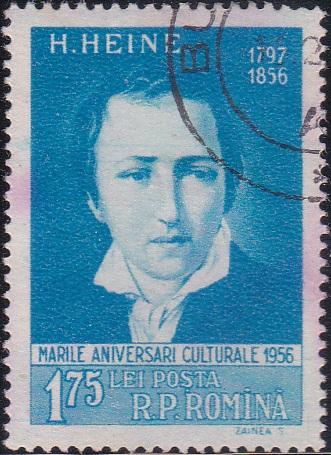 1129 Heinrich Heine [Romania Stamp]