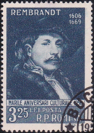 1131 Rembrandt [Romania Stamp]