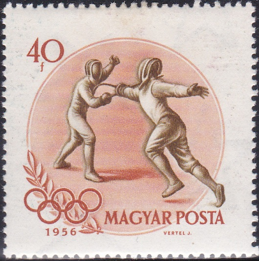 3 Fencing [Olympic Games 1956, Melbourne]