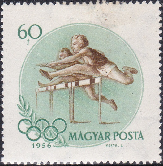4 Women Hurdlers [Olympic Games 1956, Melbourne]