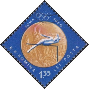 5 Woman's high jump [Romania's gold medals in 1956, 1960 Olympics]