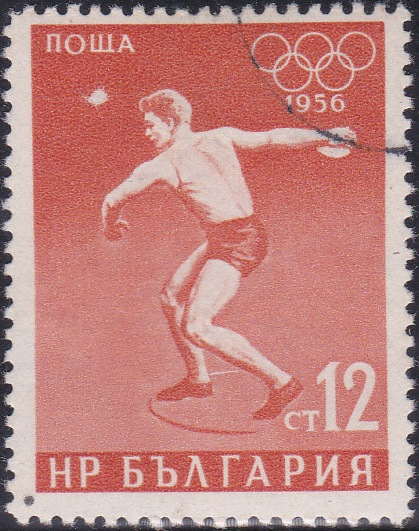 941 Discus throw [Olympic Games 1956, Melbourne]