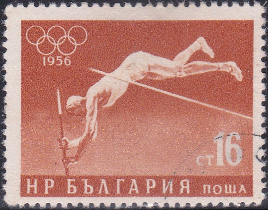 942 Pole Vaulting [Olympic Games 1956, Melbourne]