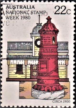 Victorian Mail-Box in Colonial Australia