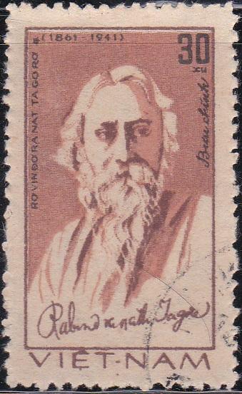 Rabindranath Tagore [Vietnam Stamp]
