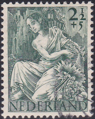 B160 Fortuna [Netherland Semi-Postal Stamp]
