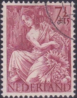 B162 Fortuna [Netherland Semi-Postal Stamp]