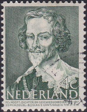 B176 Peter Cornelisz Hooft [Netherland Semi-Postal Stamp]