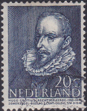 B179 Hugo de Groot [Netherland Semi-Postal Stamp]