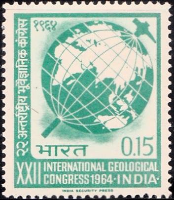 International Union of Geological Sciences (IUGS) : Globe & Hammer
