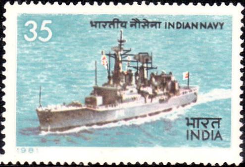 Indian Navy : INS Taragiri, a Nilgiri-class frigate