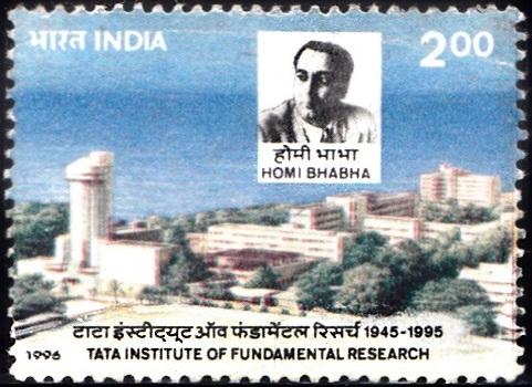 TIFR Building & Dr. Homi Jehangir Bhaba