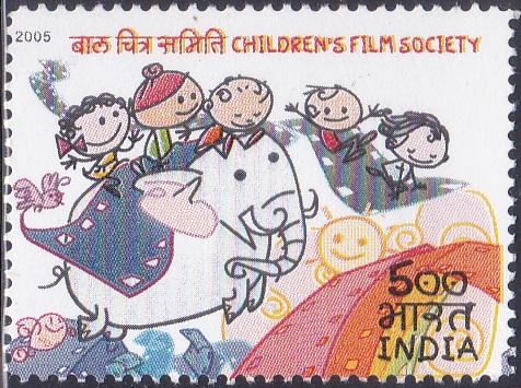 Children, Elephant & Filmstrip