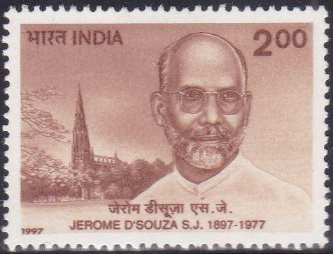 Father Jerome D'Souza, SJ, Indian Jesuit priest