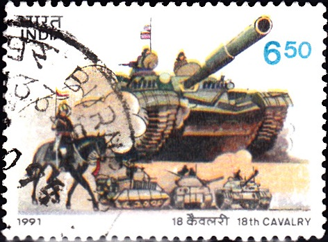 Mounted Sowar & Tanks of different periods
