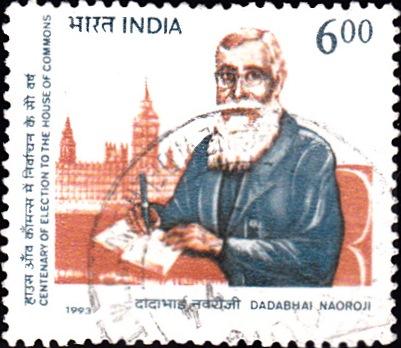 Sir Dadabhai Naoroji : Houses of Parliament (Palace of Westminster), London