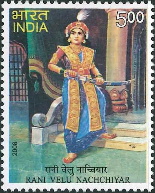 Veeramangai Velu Nachiyar (வேலு நாச்சியார்) : Queen of Sivaganga