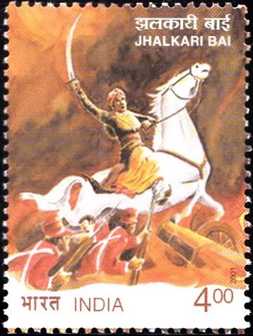Warrior from the Army of Rani of Jhansi, Lakshmibai