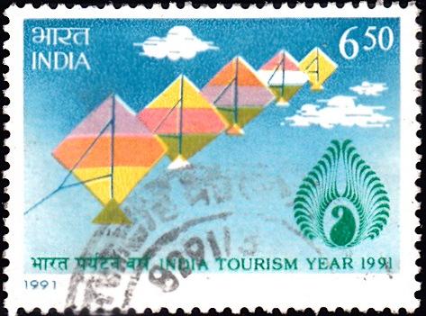 Visit India Tourism Year 1991