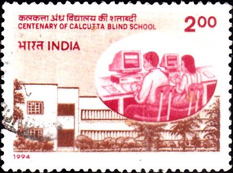 Calcutta Blind School Building and Computer Class