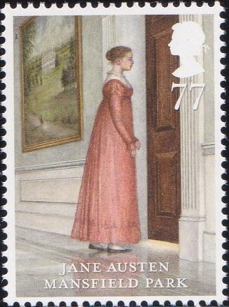 3. Jane Austen - Mansfield Park [England Stamp 2013]