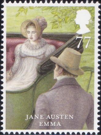 4. Jane Austen - Emma [England Stamp 2013]