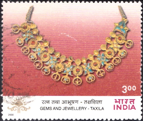 Jewellery from ancient city of Taxila