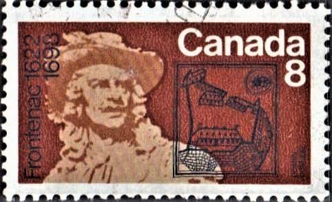 Louis de Buade de Frontenac & Fort Saint Louis, Quebec