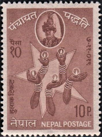 5-pointed Star and Hands Holding Lamps