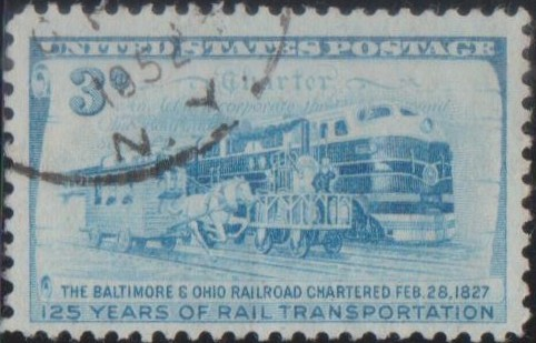 1006 Baltimore and Ohio Railroad Company [United States Stamp 1952]