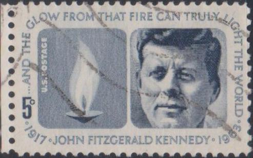 1246 Kennedy Memorial Issue [United States Stamp 1964]
