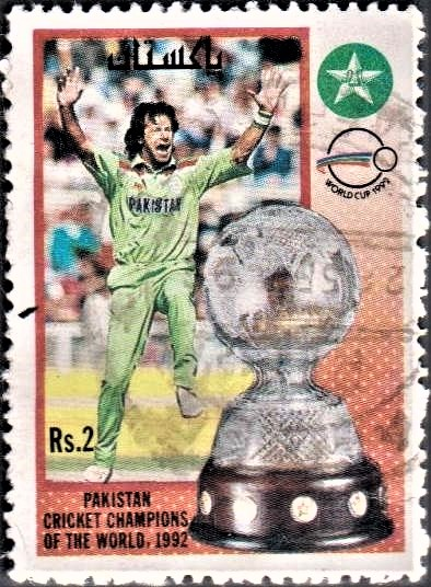 Cricketer Imran Ahmed Khan Niazi : Prime Minister of Pakistan