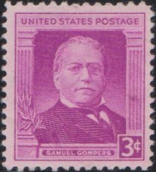 988 Samuel Gompers [United States Stamp 1950]