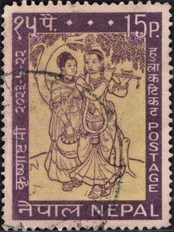 Krishna Janmashtami (जन्माष्टमी) : Radha-Krishna