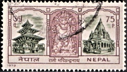 Bunga Dyaḥ Jatra (बुंग द्यः जात्रा) : Matsyendranath (Avalokitesvara)