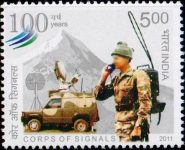 India Stamp 2011, Indian Army