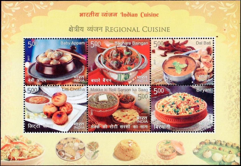 Baby Appam, Baghare Baingan, Dal Bati, Litti Chokha, Makke Ki Roti Sarson Ka Saag, Biryani