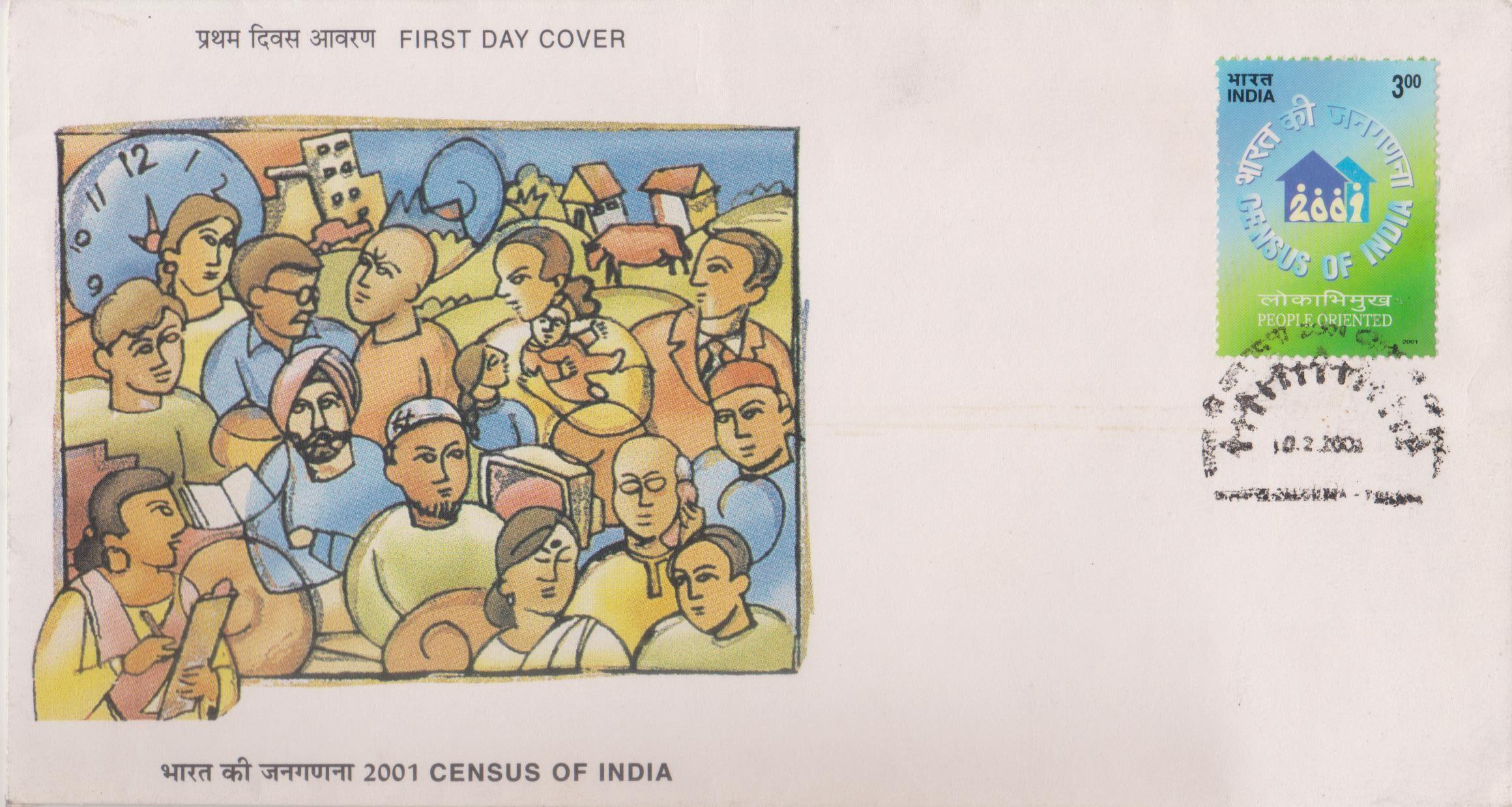 Census Operation in India 2001
