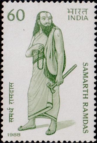 समर्थ रामदास, Guru of Shivaji (Maharashtra Dharma)