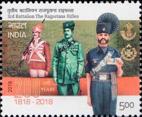 Rajputana Rifles Regimental Uniforms over Time